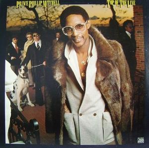 Album  Cover Prince Phillip Mitchell - Top Of The Line on ATLANTIC Records from 1979