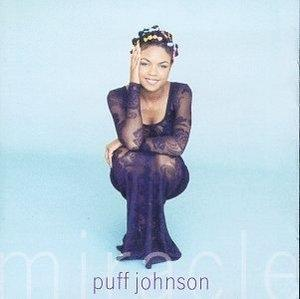 Album  Cover Puff Johnson - Miracle on SONY Records from 1996