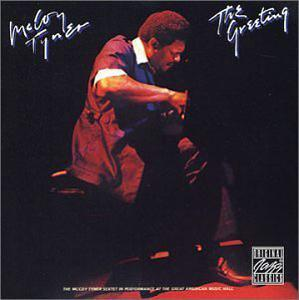 Album  Cover Mccoy Tyner - The Greeting on MILESTONE Records from 1978