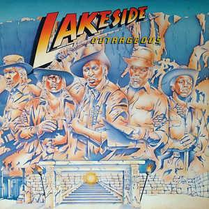 Album  Cover Lakeside - Outrageous on SOLAR Records from 1984