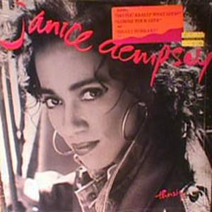 Album  Cover Janice Dempsey - Thirsty on EPIC Records from 1990