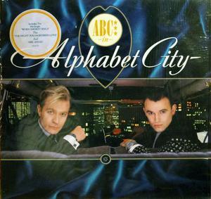 Album  Cover Abc - Alphabet City on POLYGRAM Records from 1987