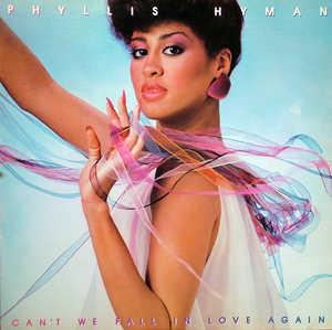 Front Cover Album Phyllis Hyman - Can't We Fall In Love Again