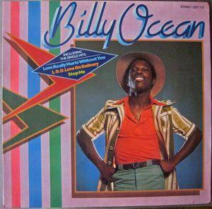 Album  Cover Billy Ocean - Billy Ocean on GTO Records from 1977