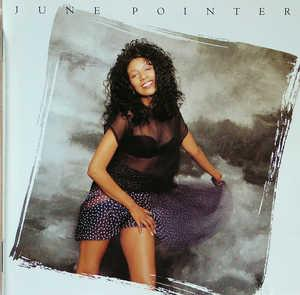 Album  Cover June Pointer - June Pointer on CBS Records from 1989