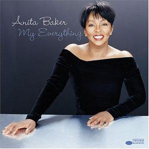 Album  Cover Anita Baker - My Everything on BLUE NOTE Records from 2004