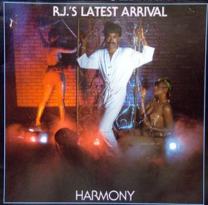 Album  Cover R.j.'s Latest Arrival - Harmony on GOLDEN BOY Records from 1984