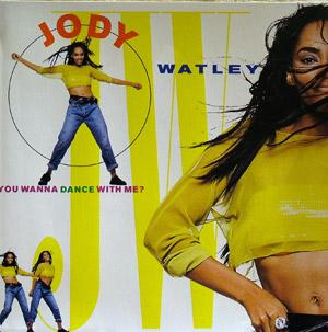 Album  Cover Jody Watley - You Wanna Dance With Me? on MCA Records from 1989