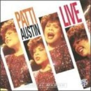 Album  Cover Patti Austin - Live on GRP Records from 1992