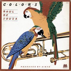Front Cover Album Raul De Souza - Colors