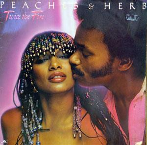 Front Cover Album Peaches & Herb - Twice The Fire
