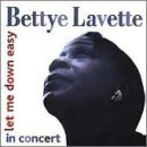 Album  Cover Bettye Lavette - Let Me Down Easy on MUNICH Records from 2000