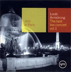 Album  Cover Louis Armstrong - Best Live Concert, Vol. 1 on VERVE Records from 2001