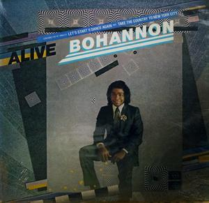 Album  Cover Hamilton Bohannon - Alive on PHASE 2 (CBS) Records from 1981