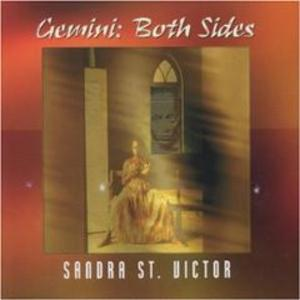 Album  Cover Sandra St. Victor - Gemini: Both Sides on EXPANSION / XECD 32 Records from 2001