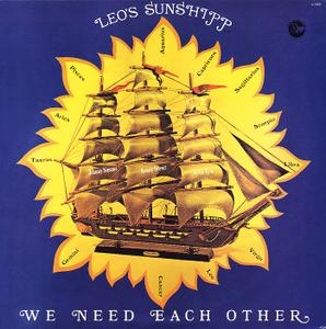 Album  Cover Leo's Sunshipp - We Need Each Other on LYON'S  CO. INC. Records from 1978