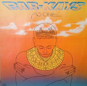 Album  Cover The Bar Kays - As One on MERCURY Records from 1980