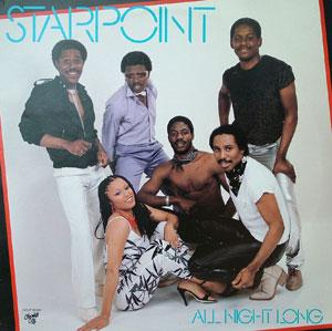 Album  Cover Starpoint - All Night Long on CHOCOLATE CITY Records from 1982