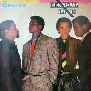 Album  Cover Central Line - Choice on MERCURY Records from 1983
