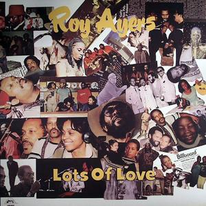 Album  Cover Roy Ayers - Lots Of Love on UNO MELODIC Records from 1983