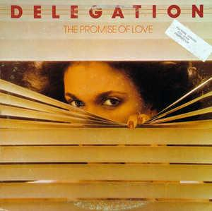 Album  Cover Delegation - The Promise Of Love on SHADYBROOK Records from 1977