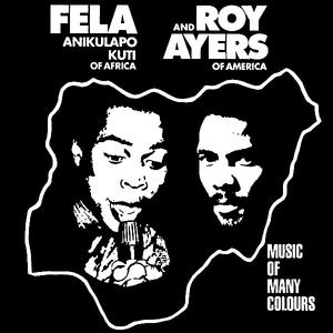 Album  Cover Roy Ayers - Music Of Many Colors on CELLULOID Records from 1986