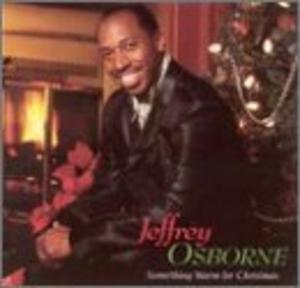 Album  Cover Jeffrey Osborne - Something Warm For Christmas on A&M Records from 1997