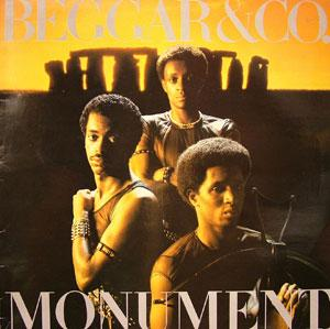 Album  Cover Beggar & Co - Monument on RCA Records from 1981