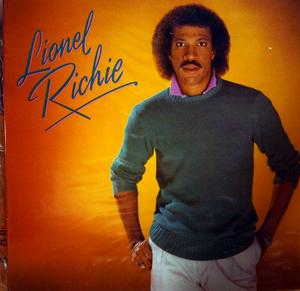 Album  Cover Lionel Richie - Lionel Richie on MOTOWN Records from 1982