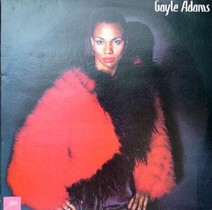 Album  Cover Gayle Adams - Gayle Adams on PRELUDE Records from 1980
