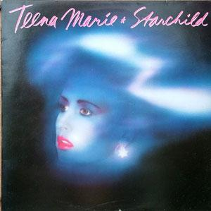 Album  Cover Teena Marie - Starchild on EPIC Records from 1984