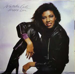 Front Cover Album Natalie Cole - Happy Love