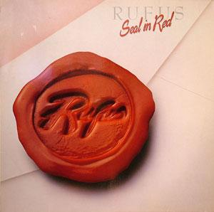 Album  Cover Rufus & Chaka Khan - Seal In Red on CBS Records from 1983