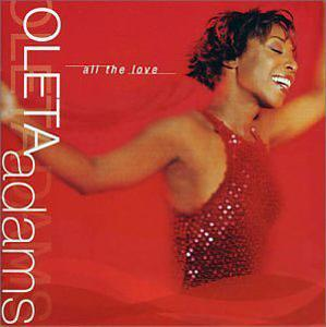 Album  Cover Oleta Adams - All The Love on BMG Records from 2002