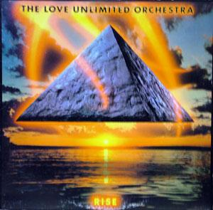 Album  Cover The Love Unlimited Orchestra - Rise on UNLIMITID GOLD Records from 1983