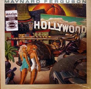 Album  Cover Maynard Ferguson - Hollywood on COLUMBIA Records from 1982