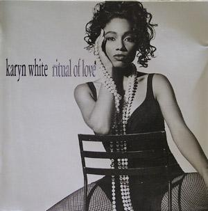 Front Cover Album Karyn White - Ritual Of Love