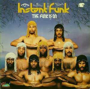 Front Cover Album Instant Funk - The Funk Is On