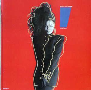Album  Cover Janet Jackson - Control on A&M Records from 1986