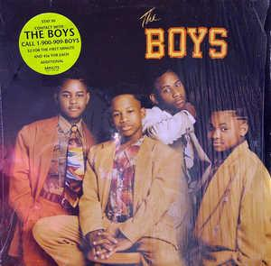 Album  Cover The Boys - The Boys on MOTOWN Records from 1990
