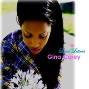 Front Cover Album Gina Carey - Love Letters
