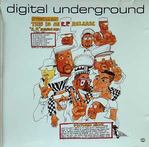 Album  Cover Digital Underground - This An E.p. Release on TOMMY BOY Records from 1990