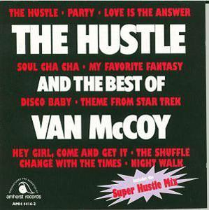 Album  Cover Van Mccoy - The Hustle on H & L Records from 1976