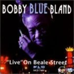 Front Cover Album Bobby Bland - Live On Beale Street