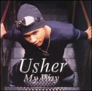 Album  Cover Usher - My Way on LA FACE Records from 1997