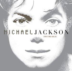 Album  Cover Michael Jackson - Invincible on EPIC Records from 2001