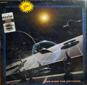 Album  Cover Sun - Sun Over The Universe on CAPITOL Records from 1980