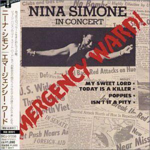Album  Cover Nina Simone - Emergency Ward on RCA Records from 1972