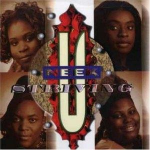 Album  Cover Uneek - Striving on TYSCOT Records from 1996