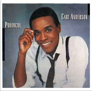 Front Cover Album Carl Anderson - Protocol  | ftg  usa records | FTG-204 | UK